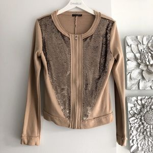 DOLCE & GABBANA Sequin Embellished Jacket